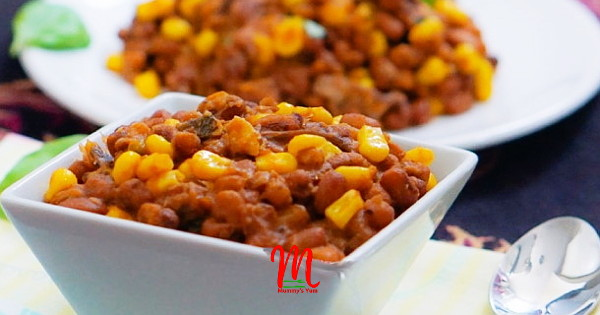 Stewed Beans and Corn