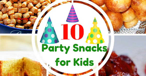 Ten Christmas & Party Snacks to make for Kids