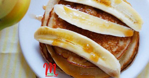 Breakfast Banana Oats Pancake