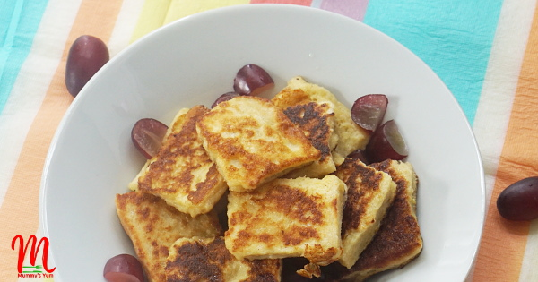 Eggy Bread Bites for Toddlers