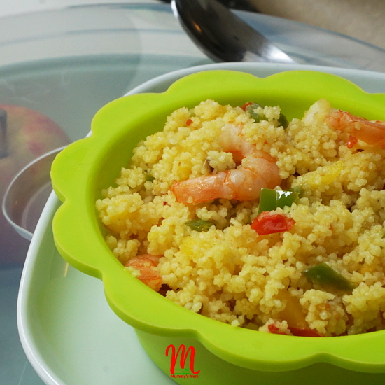 Apple Couscous