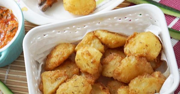 Beans Potato Chunks (Potarita)