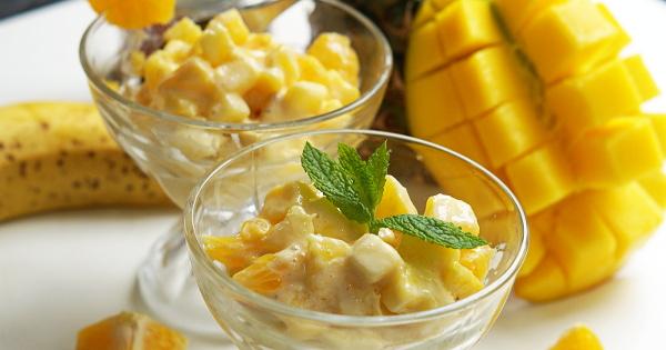 Mummy's Tropical Fruit Salad
