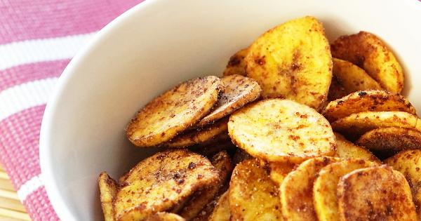 Sweetened Homemade Plantain Chips (Kpekere)