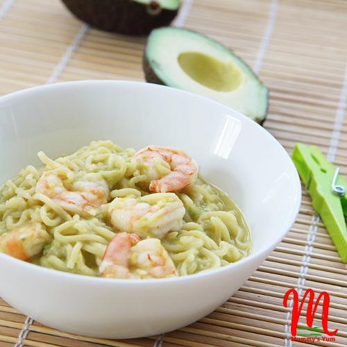 Avocado Noodles for kids